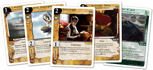 Call of Cthulhu LCG Cards
