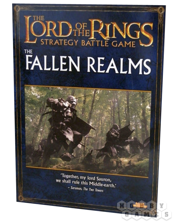 Lord of the rings fallen Realms book