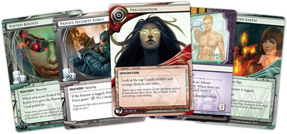 Android Netrunner LCG  Cards
