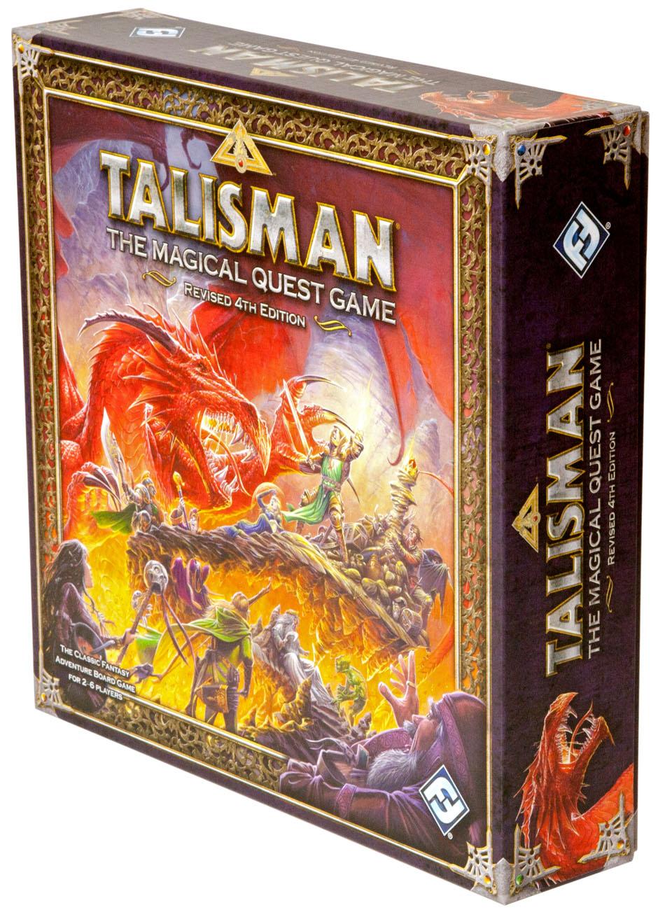 Настольная игра «Талисман 4-e издание» («Talisman: Revised 4th Edition»)