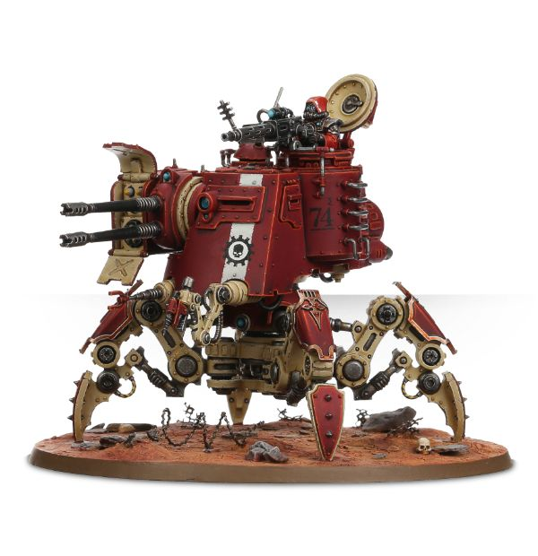 Adeptus Mechanicus Onager Dunecrawler