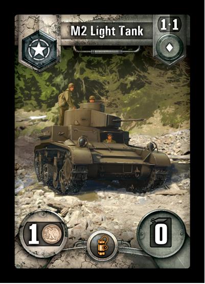 Промо-карта Light Tank M2