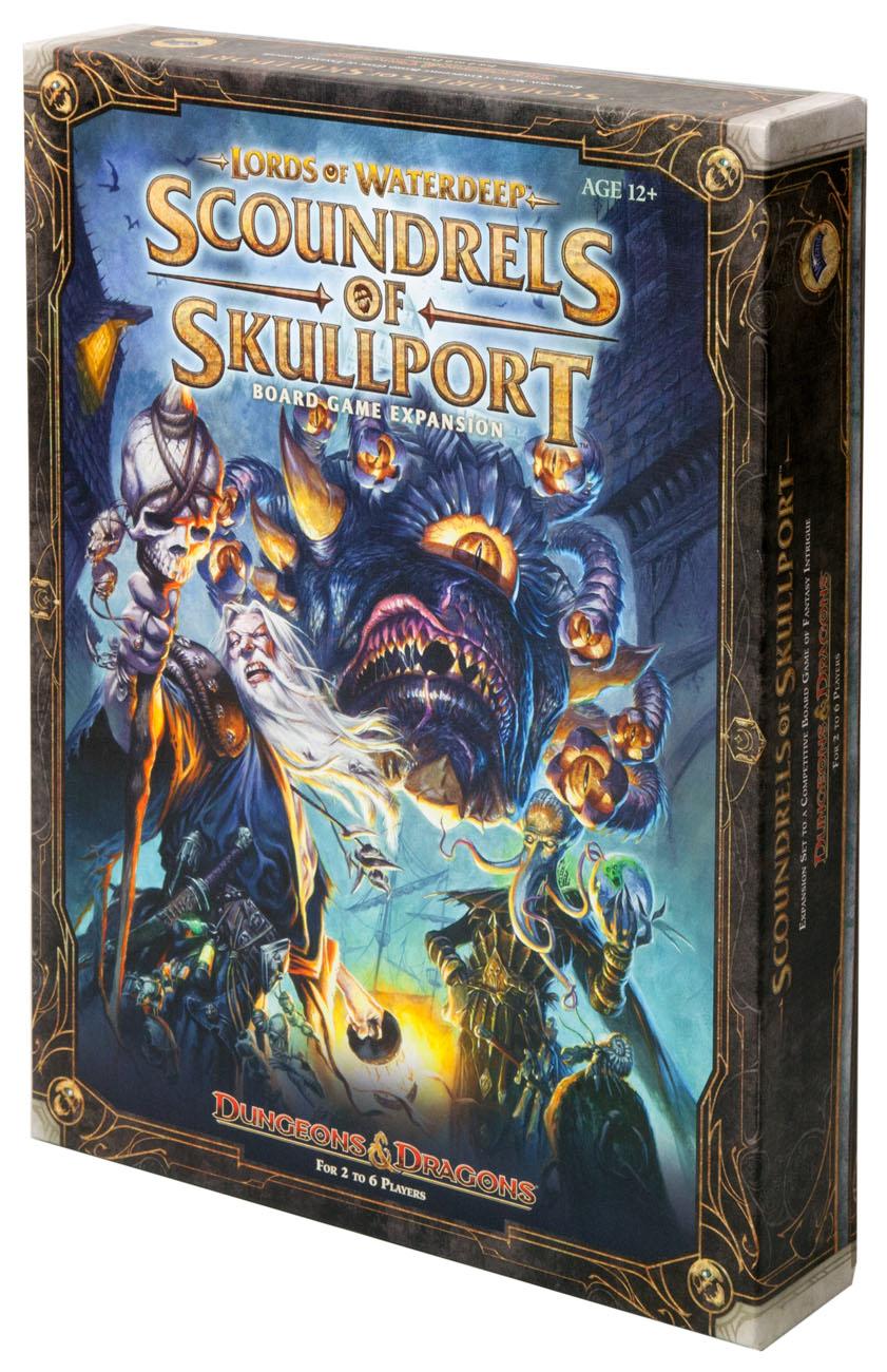 DnD. Scoundrels of Skullport