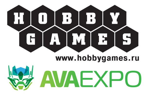 Настольные игры на AVA EXPO от магазина Hobby Games — Санкт-Петербург.