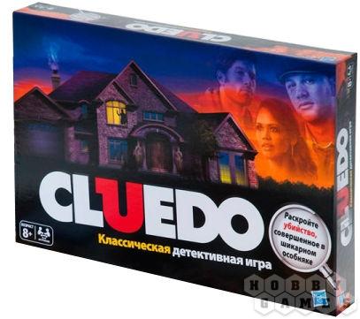 Настольная игра Cluedo (Клюэдо)