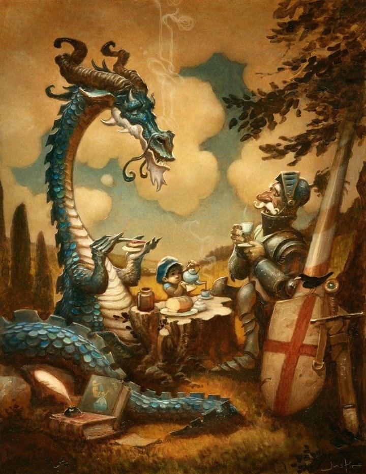 Рыцари и Драконы
