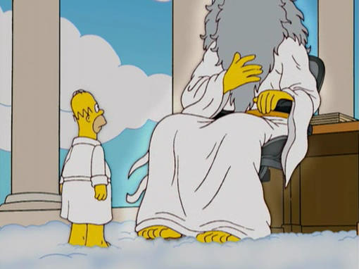 Сипмсоны, бог.